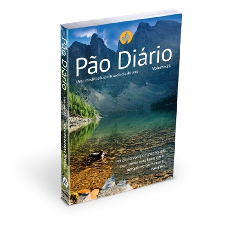 PAO DIARIO VOL 21  EDICAO PAISAGEM LETRA GIGANTE