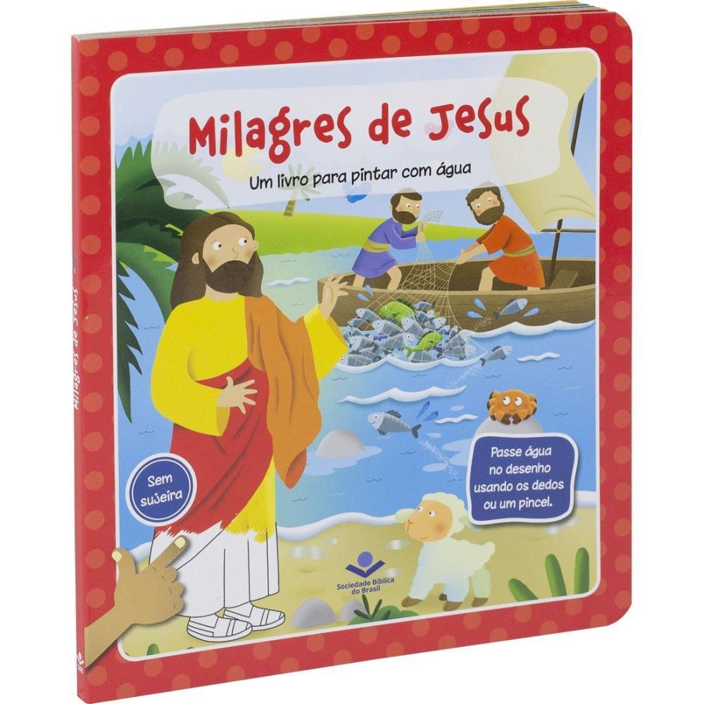 PINTAR COM AGUA CP DURA ESPIRAL TNL563PMJ - MILAGRES DE JESUS