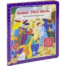 PINTAR COM AGUA CP DURA ESPIRAL TNL563PQJN - QUANDO JESUS NASCEU