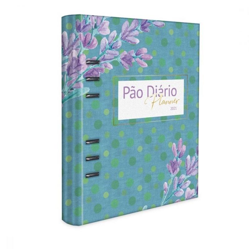PLANNER PAO DIARIO 2021 - AZUL