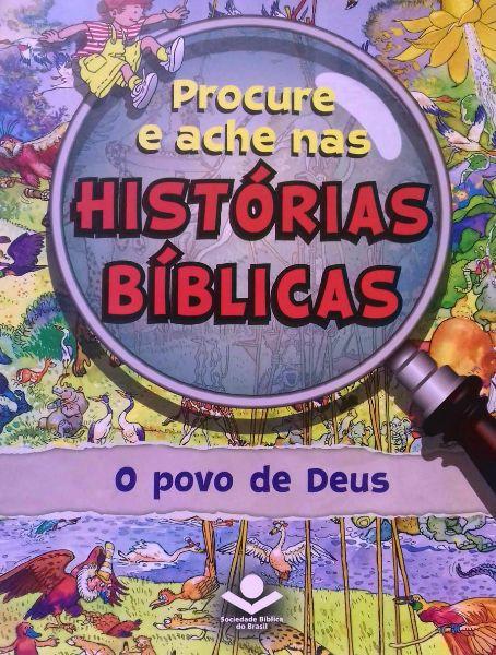 PROCURE E ACHE NAS HISTORIAS BIBLICAS - O POVO DE DEUS