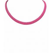 colar choker lacraia rosa
