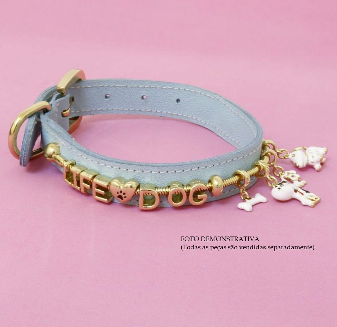 BERLOQUE LIDE DOG PATA + PET CORAÇÃO