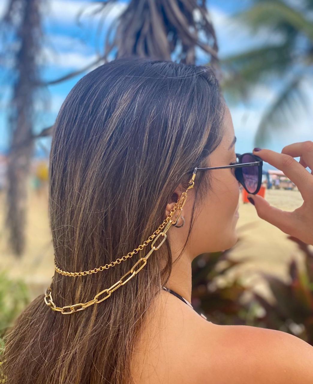 Correntes para óculos dupla - Chain Glass