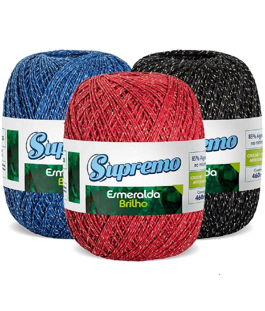 LINHA SUPREMO ESMERALDA BRILHO 8/4 - 150G