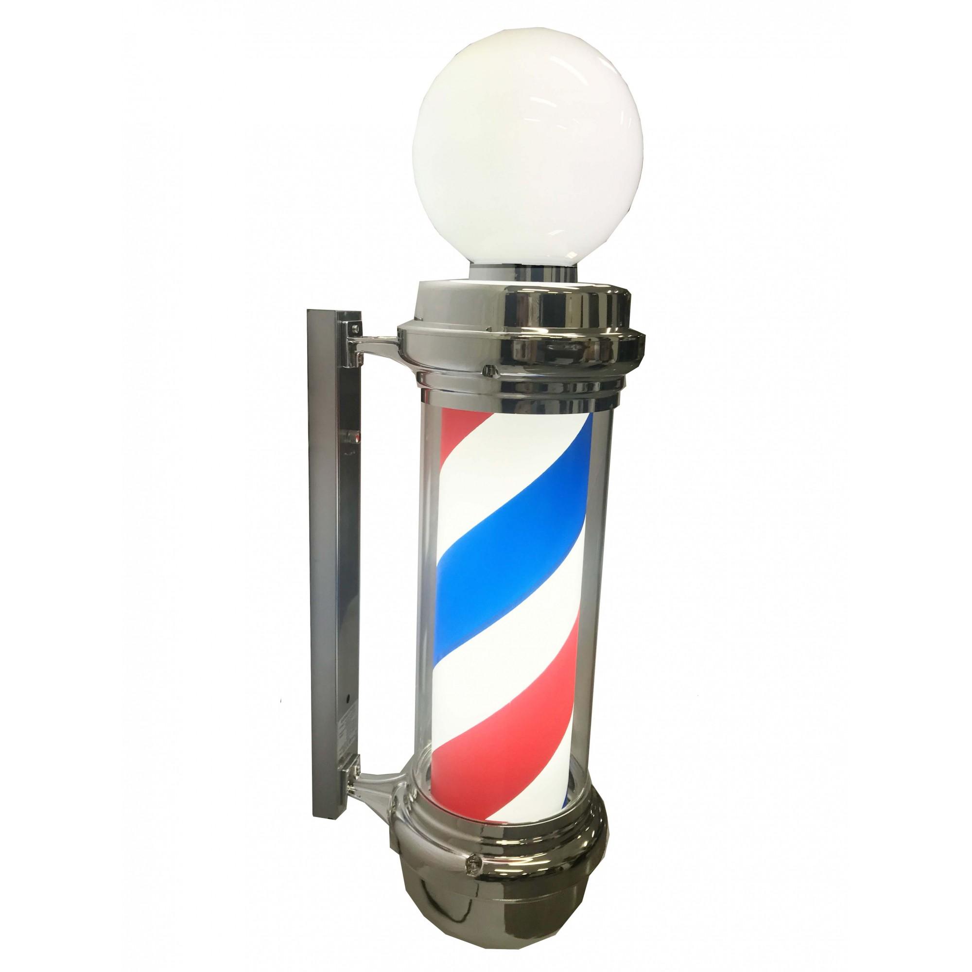 Barber Pole 85 cm - Com Globo