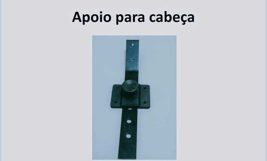 Kit Ferragem para Apoio de Cabeça + Presilha Plástica