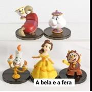 JOGO DE MINIATURAS A BELA E A FERA