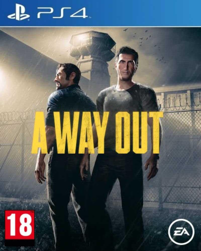 A Way Out PS4 Mídia Física Completo Lacrado