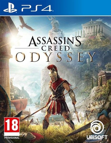 Assassin's Creed Odyssey PS4 Mídia Física Completo Lacrado