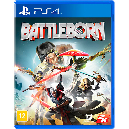Battleborn PS4 Mídia Física Completo Seminovo