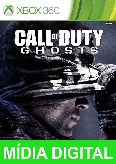 Call of Duty Ghosts Xbox 360 Mídia Digital Código