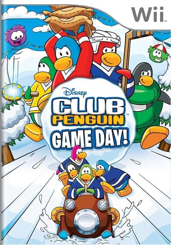 Club Penguin Game Day! Wii Mídia Física Completo Seminovo