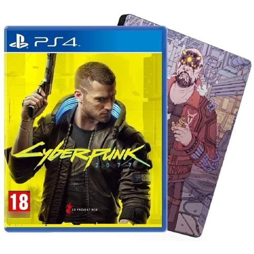 Cyberpunk 2077 PS4 Steelbook Edition Mídia Física Lacrado