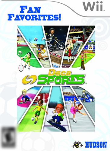 Deca Sports Wii Mídia Física Completo Seminovo