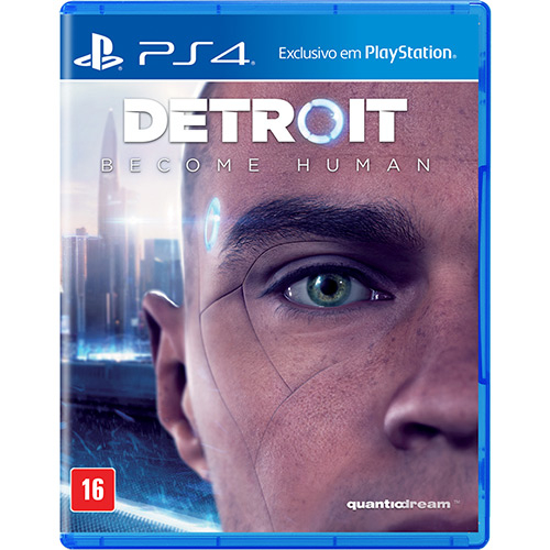 Detroit Become Human PS4 Mídia Física Seminovo