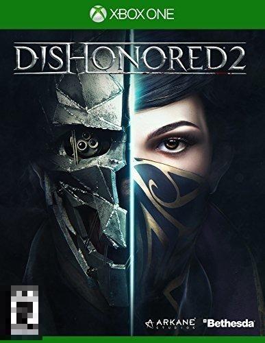 Dishonored 2 Xbox One Mídia Física Completo Lacrado