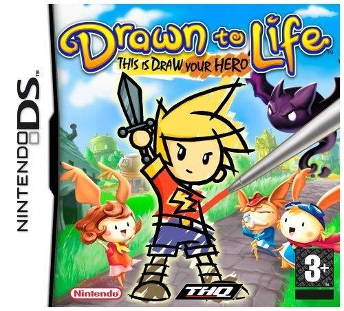Drawn To Life Nintendo DS Cartucho Seminovo