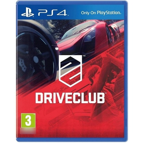 DriveClub PS4 Mídia Física Seminovo