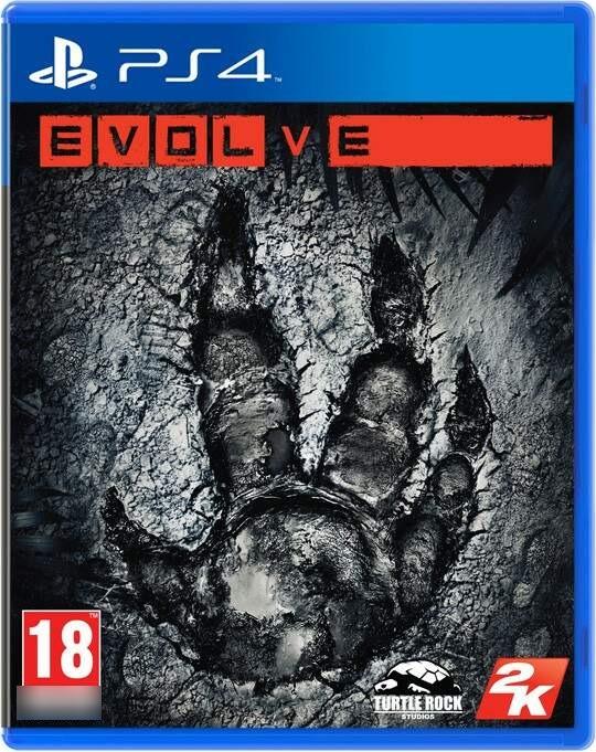 Evolve PS4 Mídia Física Completo Seminovo