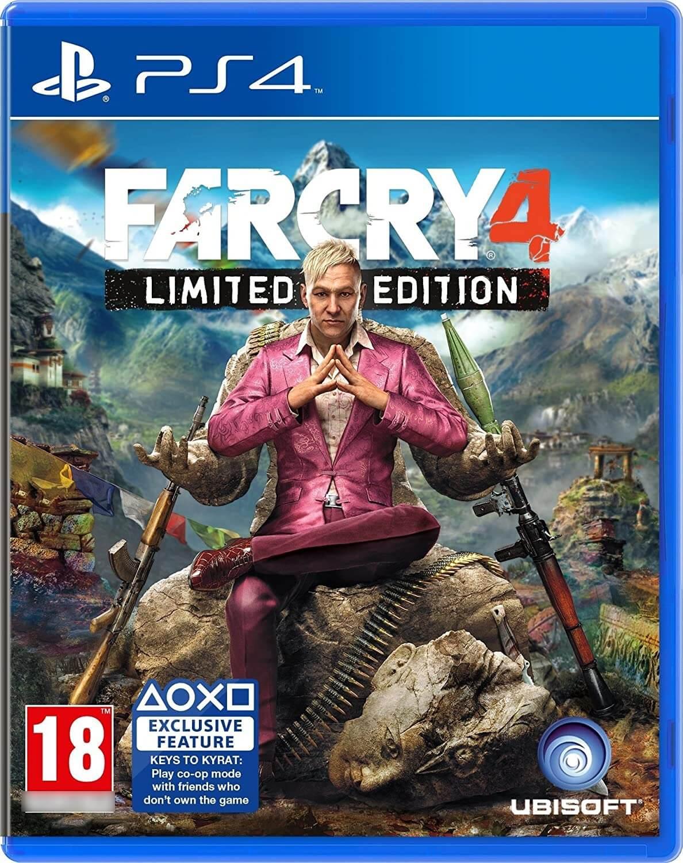 FarCry 4 Limited Edition PS4 Mídia Física Completo Seminovo