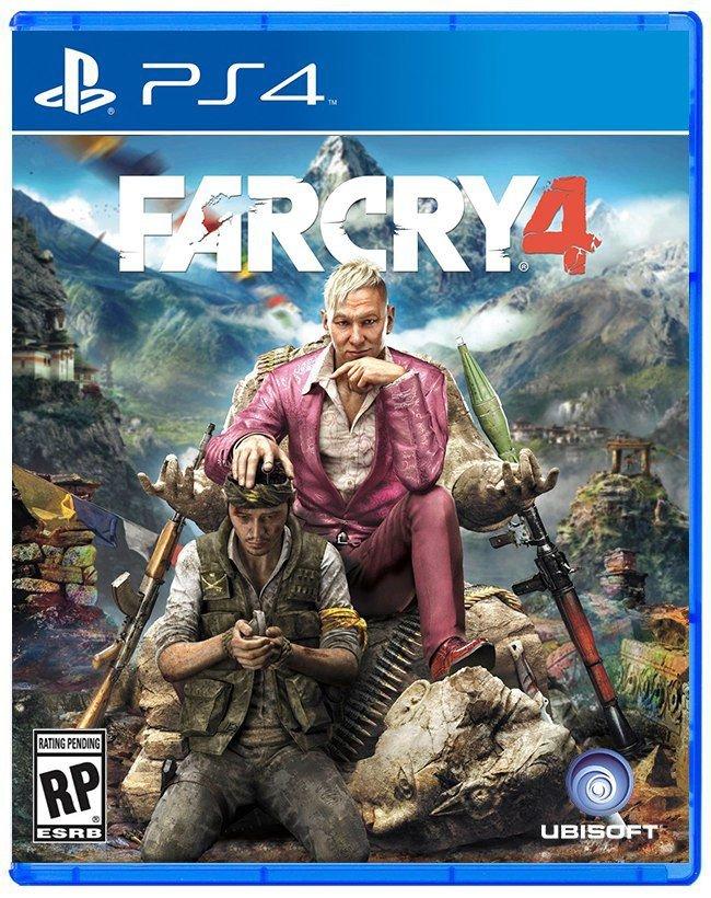 FarCry 4 PS4 Mídia Física Seminovo