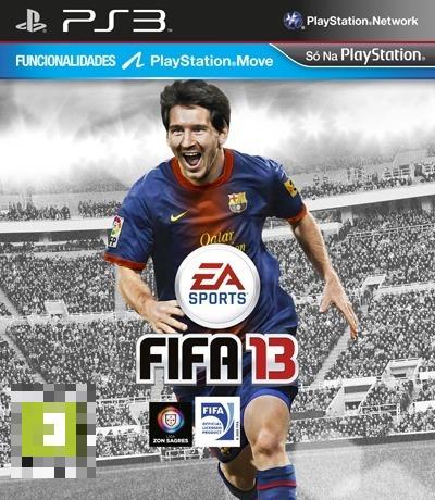 FIFA 13 PS3 Mídia Física Completo Lacrado