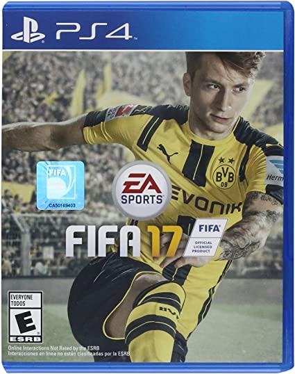 FIFA 17 PS4 Mídia Física Importado Seminovo
