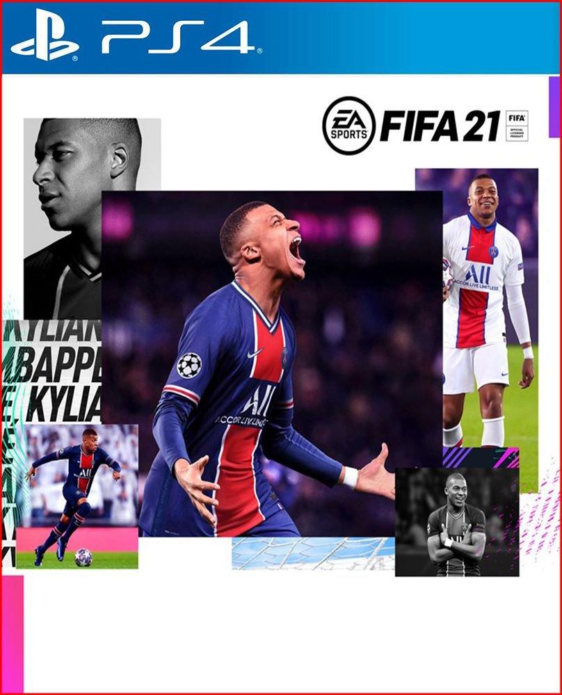 FIFA 21 PS4 Mídia Física Completo Lacrado