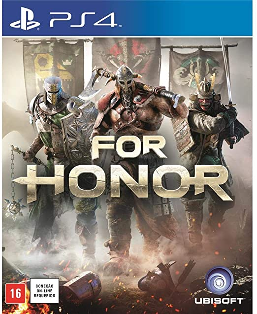 For Honor PS4 Mídia Física Completo Lacrado