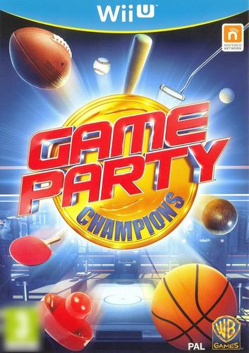 Game Party Champions WiiU Mídia Física Completo Seminovo