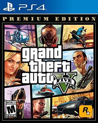 GTA V Grand Theft Auto Premium Edition PS4 Mídia Física Completo Lacrado