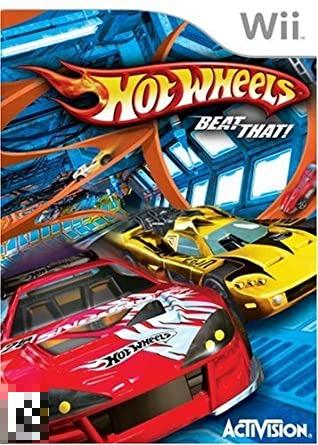 Hot Wheels Beat That! Wii Mídia Física Completo Seminovo