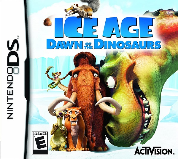 Ice Age 3: Dawn of Dinosaurs Nintendo DS Cartucho Seminovo