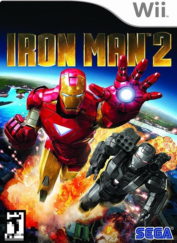 Iron Man 2 Wii Mídia Física Seminovo