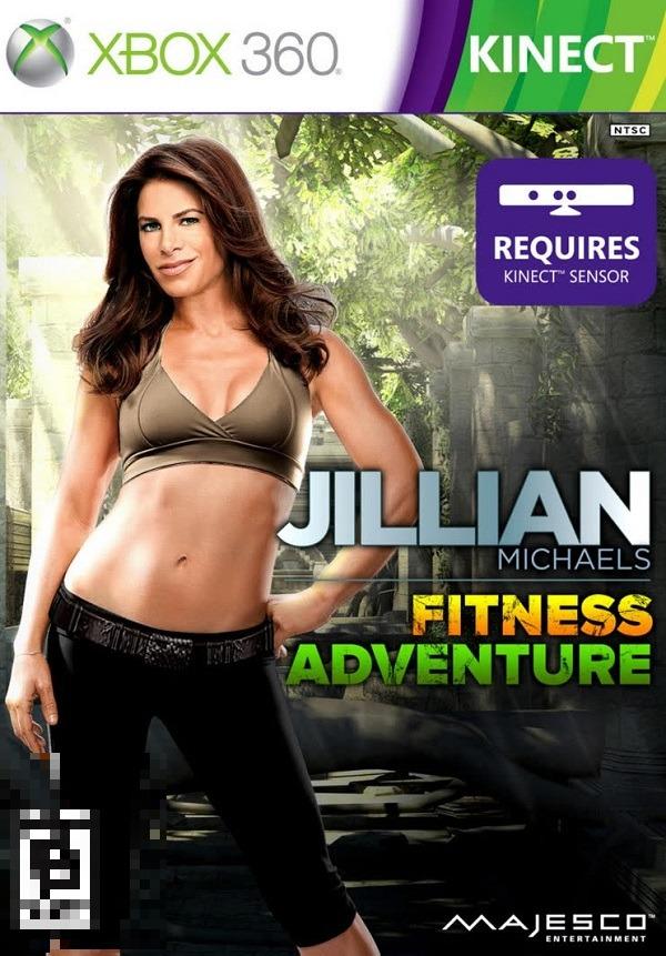 Jillian Michaels Fitness Adventure Xbox 360 Mídia Física Completo Lacrado