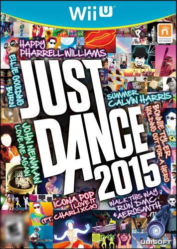 Just Dance 2015 WiiU Mídia Física Completo Seminovo
