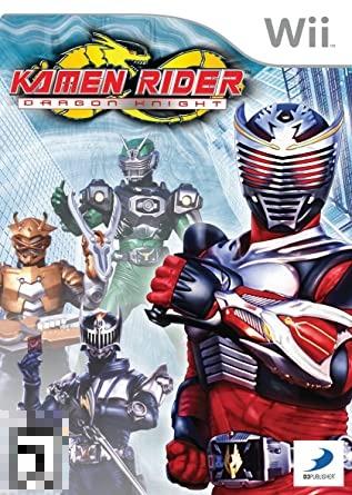 Kamen Rider Dragon Knight Wii Mídia Física Completo Seminovo