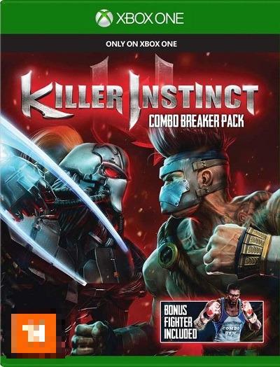 Killer Instinct Pacote Combo Breaker Xbox One Mídia Física Completo Seminovo