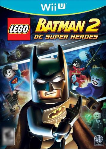 Lego Batman 2 DC Super Heroes WiiU Mídia Física Seminovo