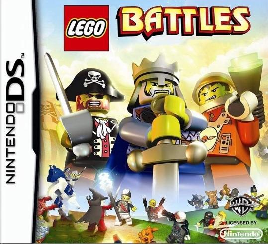 Lego Battles Nintendo DS Cartucho Seminovo