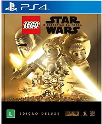 Lego Star Wars O Despertar da Força PS4 Mídia Física Completo Seminovo