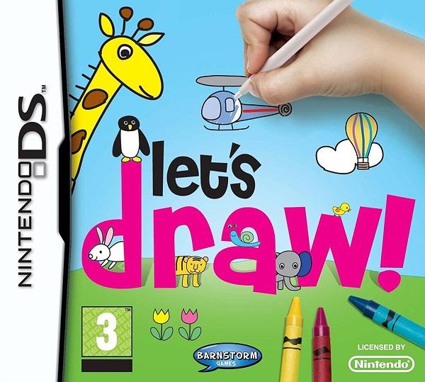 Let's Draw! Nintendo DS Cartucho Seminovo