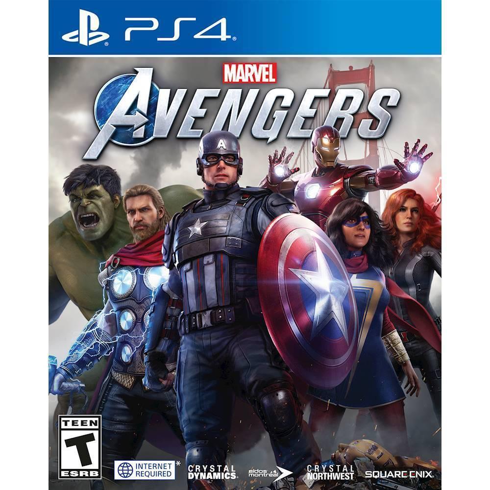 Marvel Avengers PS4 Mídia Física Completo Lacrado