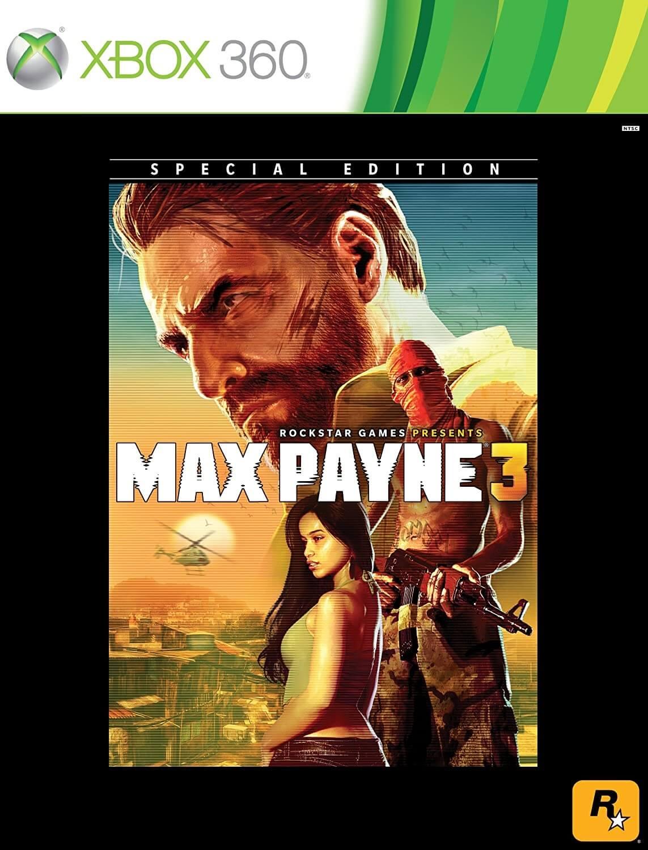 Max Payne 3 Special Edition Xbox 360 Mídia Física Completo Lacrado