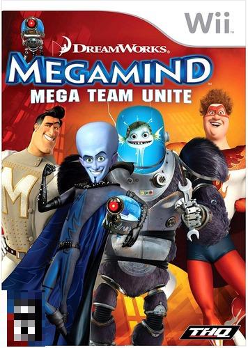 Megamind Mega Team Unite Wii Mídia Física Completo Seminovo