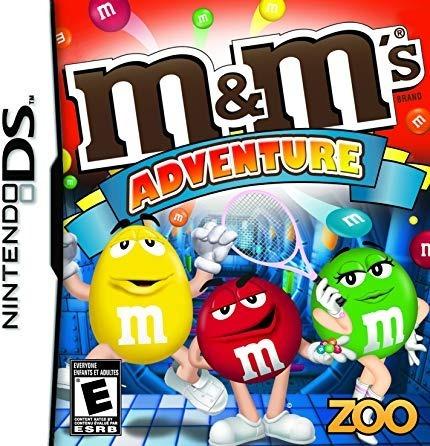 M&M's Adventure Nintendo DS Cartucho Seminovo