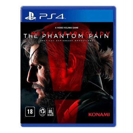 Metal Gear Solid V The Phantom Pain PS4 Mídia Física Seminovo