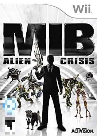 MIB Alien Crisis Wii Mídia Física Completo Seminovo