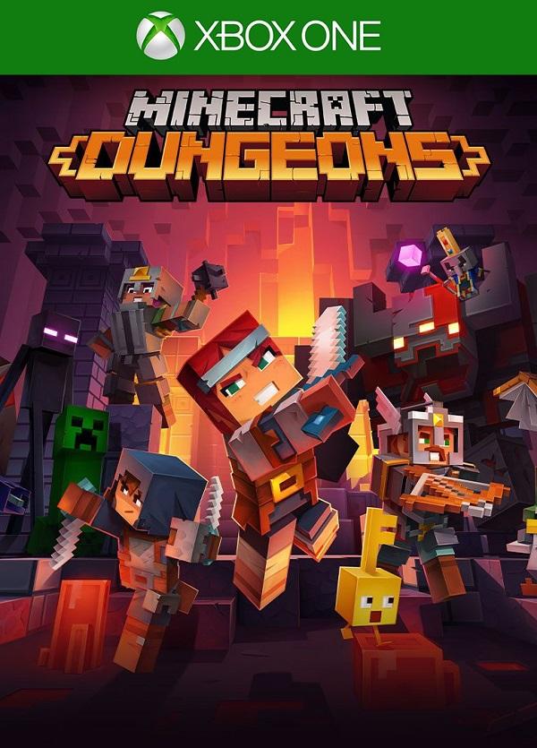 Minecraft Dungeons Hero Edition Xbox One Mídia Física Completo Lacrado